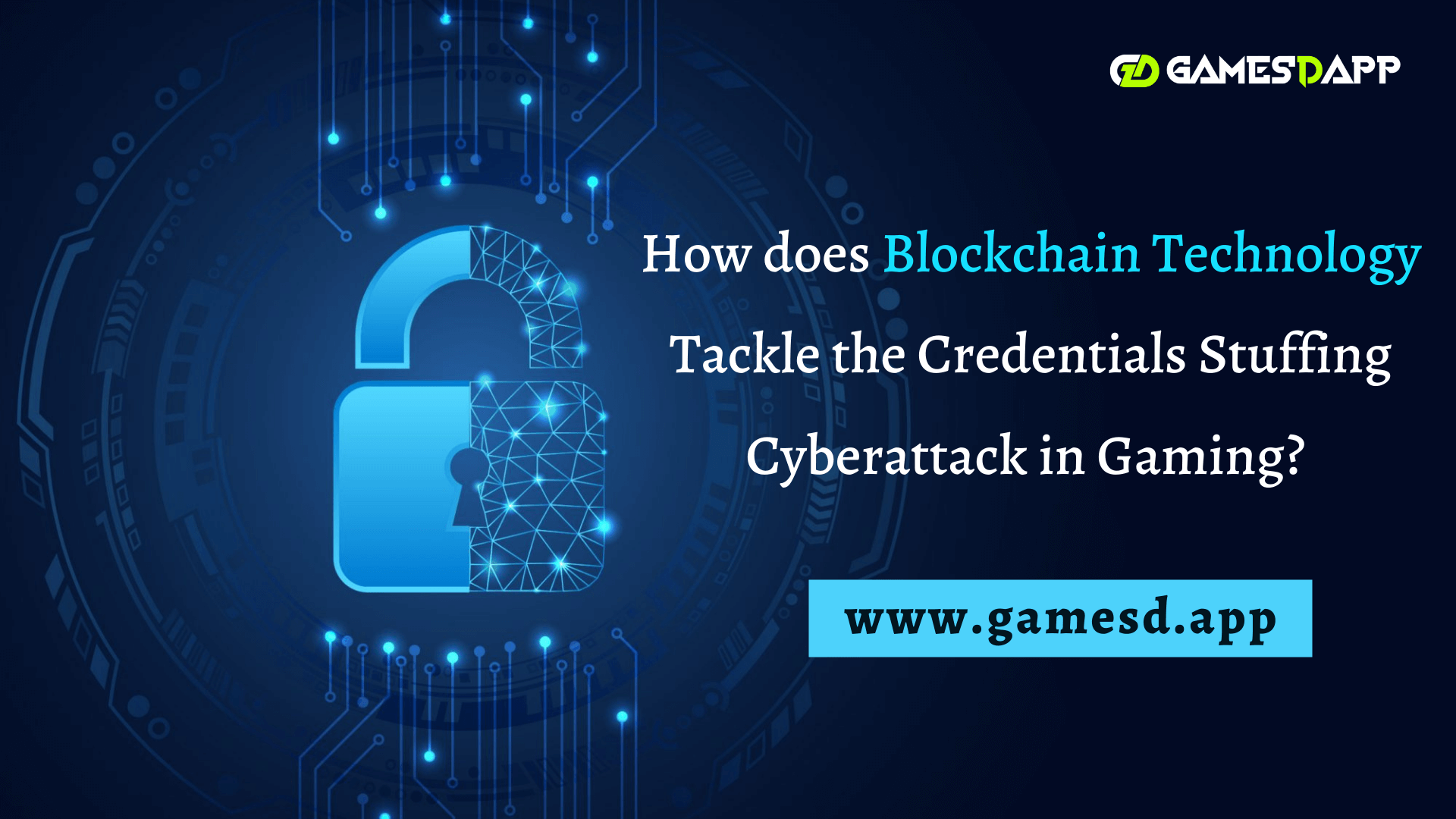 How does Blockchain Technology Tackle the Credentials Stuffing Cyberattack in Gaming?