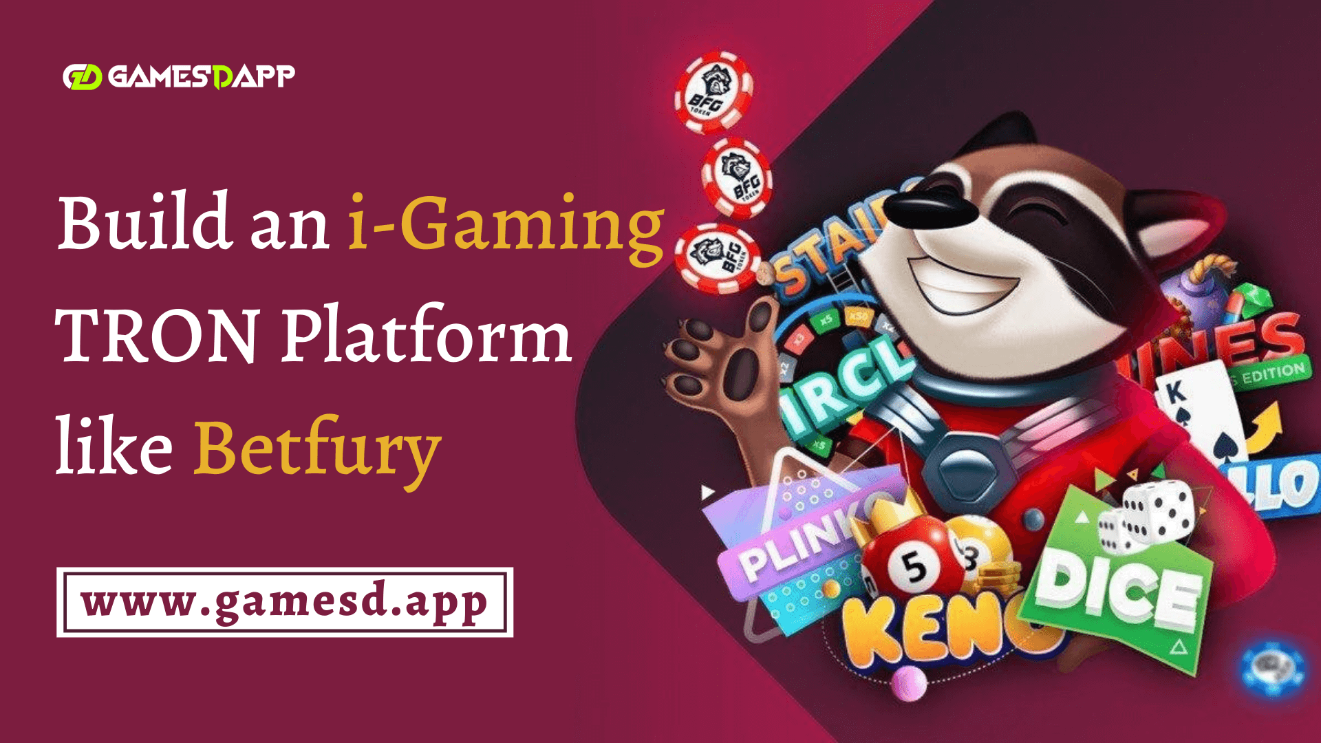 How to Build an i-Gaming Crypto Game Platform like Betfury on TRON Blockchain Network?