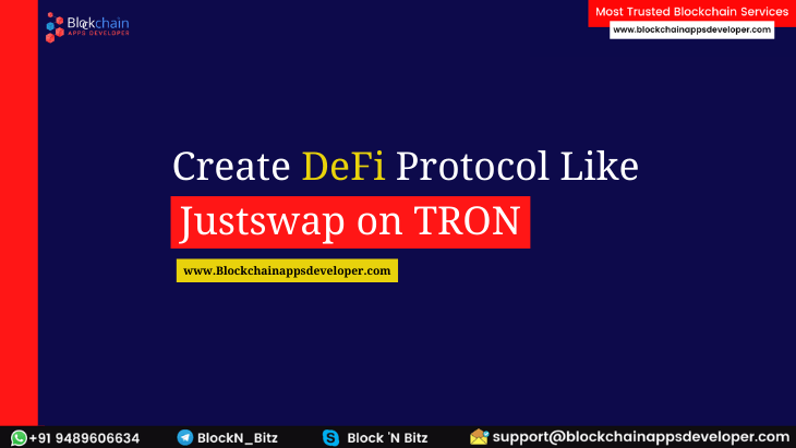 HOW TO BUILD A DECENTRALIZED EXCHANGE PROTOCOL FOR AUTOMATED LIQUIDITY PROVISION ON TRON LIKE JUSTSWAP?