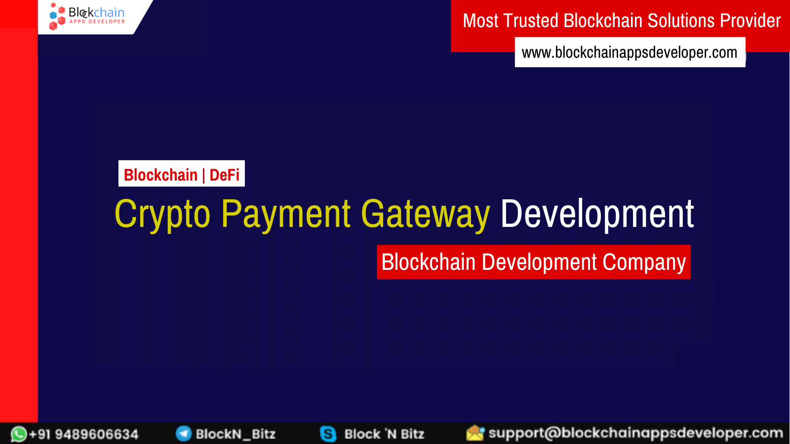 Cryptocurrency Payment Gateway Development Services Company
