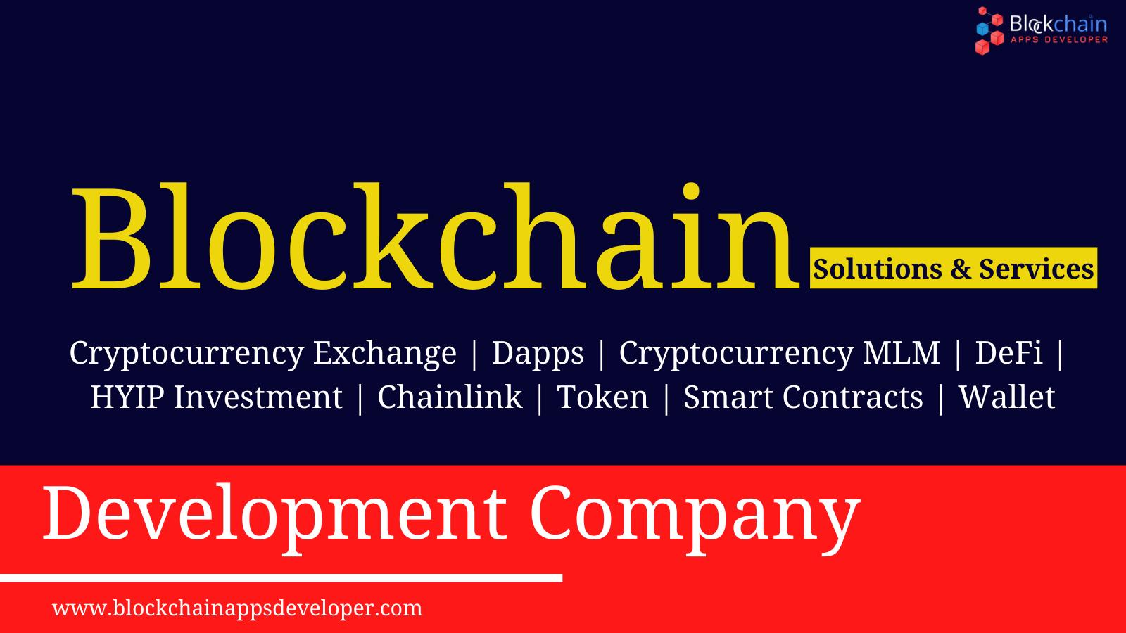 Blockchain Development Company | Blockchain Application Development Services