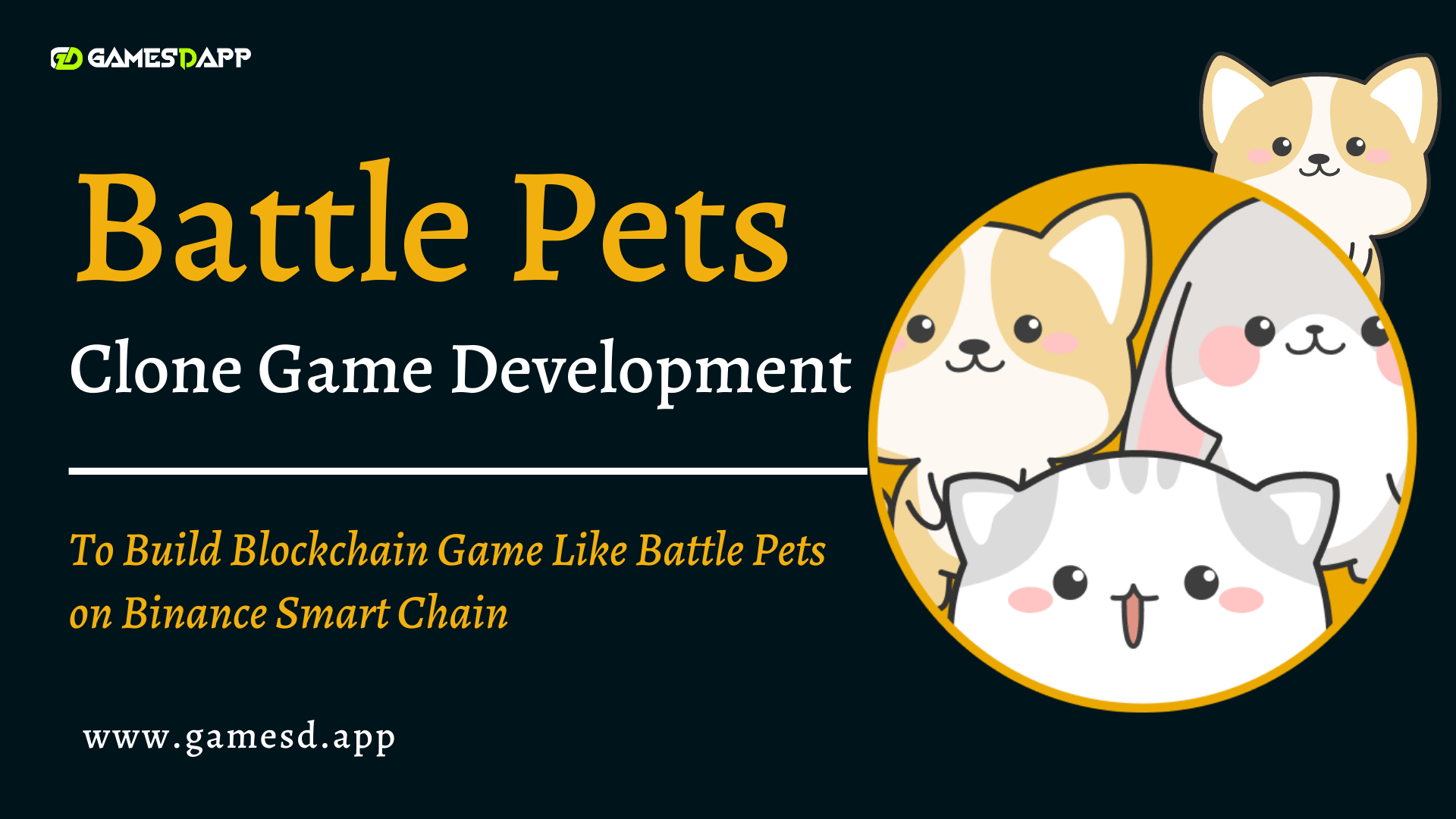 Battle Pets Game Clone Development - To Build Blockchain Game Like Battle Pets on Binance Smart Chain