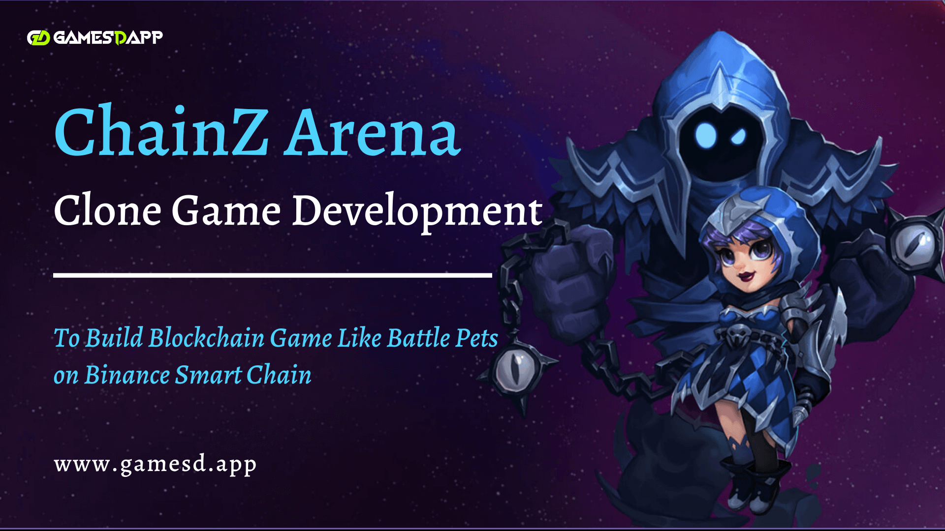 ChainZ Arena Game Clone Development - To Build Popular Blockchain RPG Game Like ChainZ Arena on Binance Smart Chain