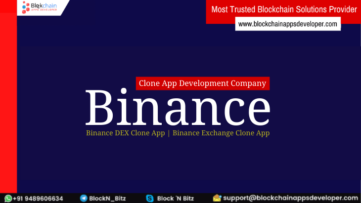 Binance Clone App Development - Build Your Profitable Crypto Exchange Mobile App Similar To Binance App Today!