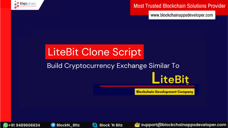 LiteBit Clone Script To Build Sell and Store Cryptocurrencies Like LiteBit.eu