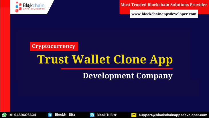 Trust Wallet Clone App - Launch a Cryptocurrency Wallet App Like Trust Wallet
