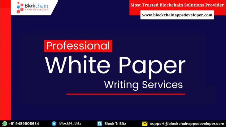 White Paper Writing / Creation Services for All Types of Business & Industries
