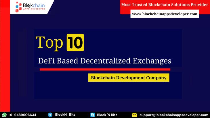 Top 10 DeFi Exchange Platforms in 2021