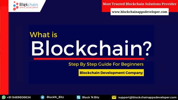 What is Blockchain Technology? A Step by Step Guide For Beginners