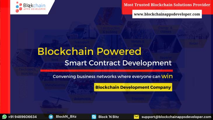 Blockchain-Powered Smart Contract Development: Smart Working with blockchain-based Smart Contracts