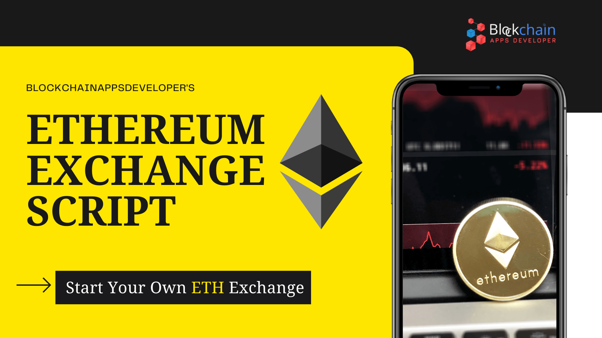 Ethereum Exchange Script To Launch Your Own ETH Exchange Instantly!