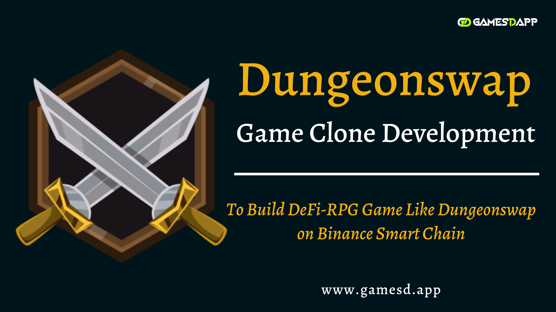 DungeonSwap Game Clone  - To Build DeFi-RPG Game Like DungeonSwap on Binance Smart Chain