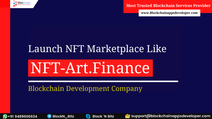 Create Your Own NFT Marketplace Platform Like NFT-Art.Finance Instantly!