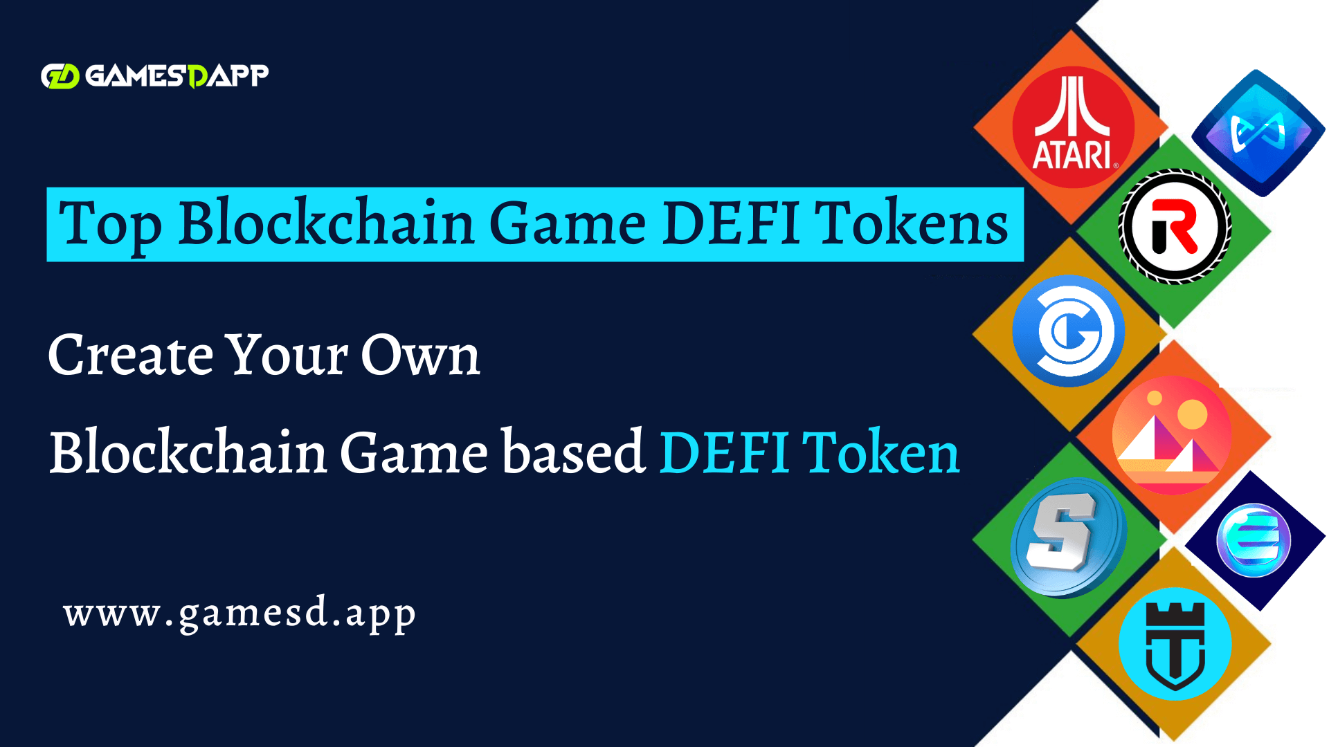 Top Blockchain Game DEFI Tokens - Create Your Own Favorite Blockchain Game based DEFI Token