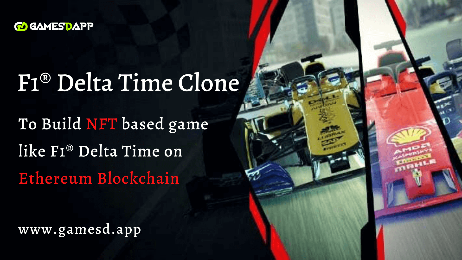 F1® Delta Time Clone - Build NFT based game like F1® Delta Time on Ethereum Blockchain
