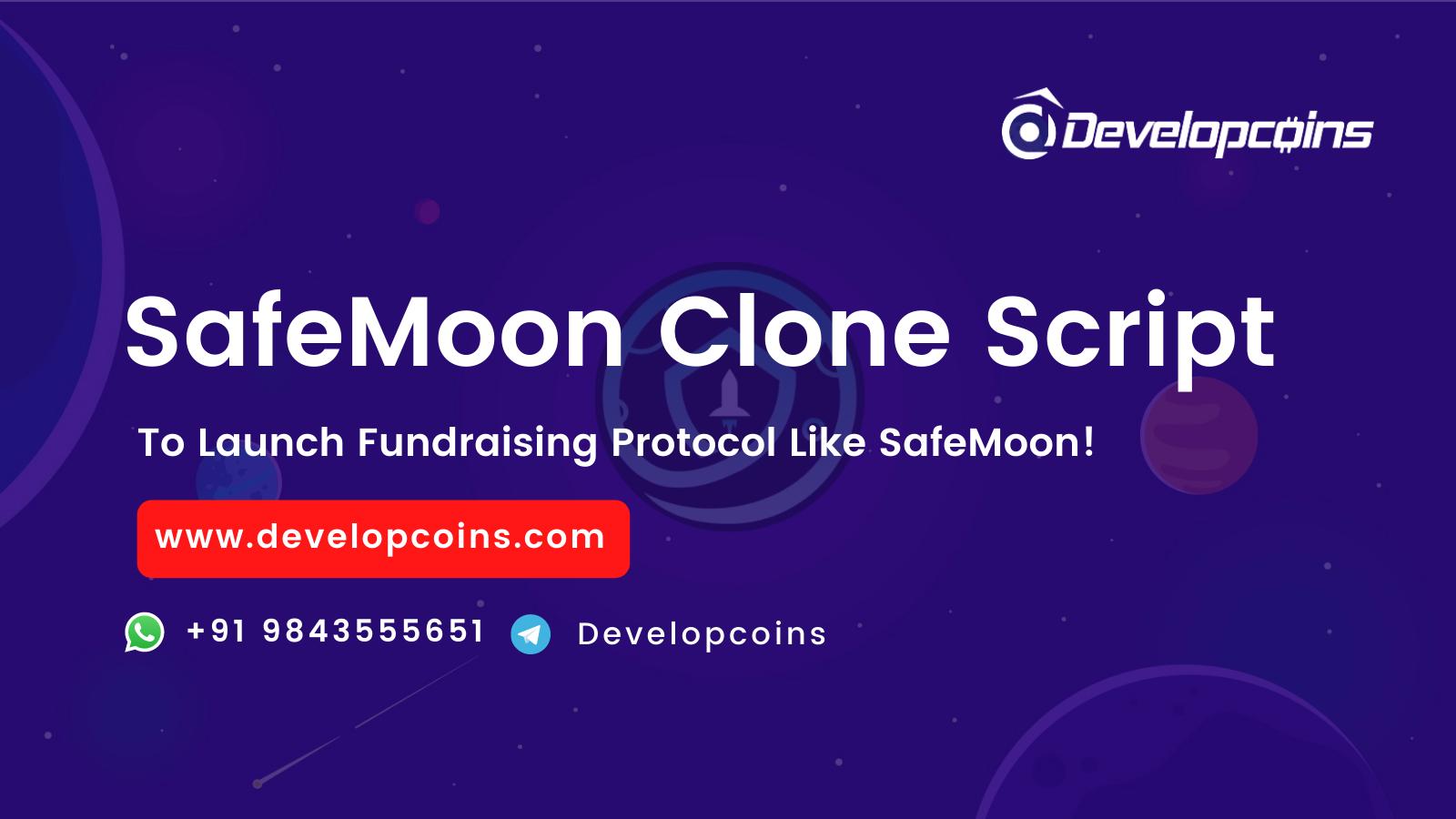 Create A DeFi based Fundraising Protocol like SafeMoon