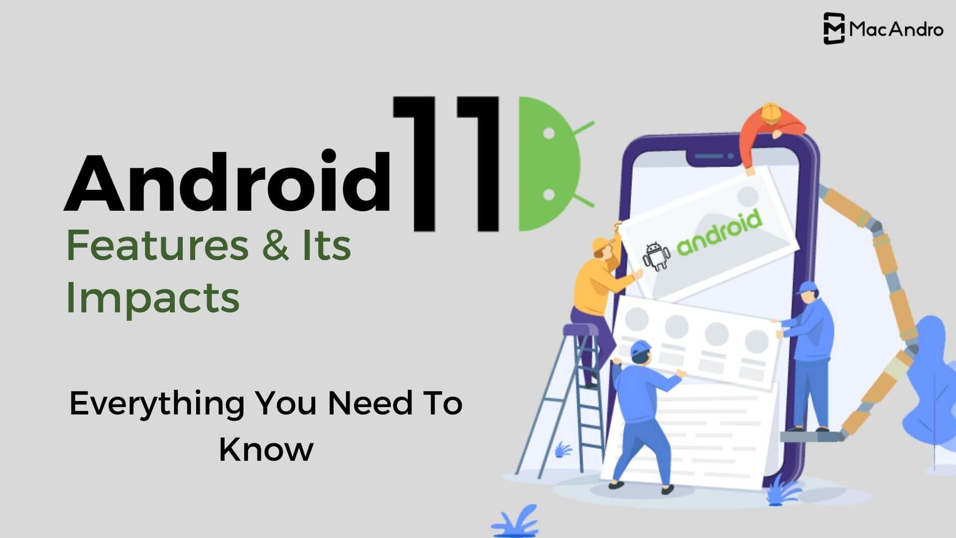 In What Ways Features of Android 11 Will Impact Your Mobile App?