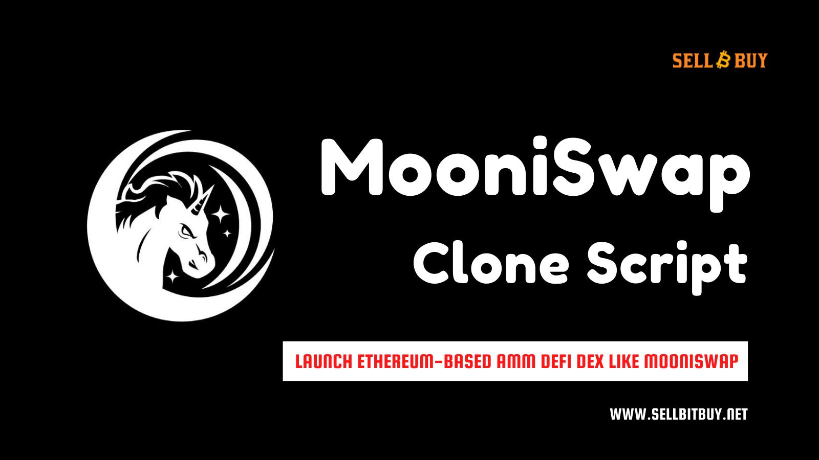 MooniSwap Clone Script - To Launch MooniSwap Like Ethereum Based Decentralized Exchange