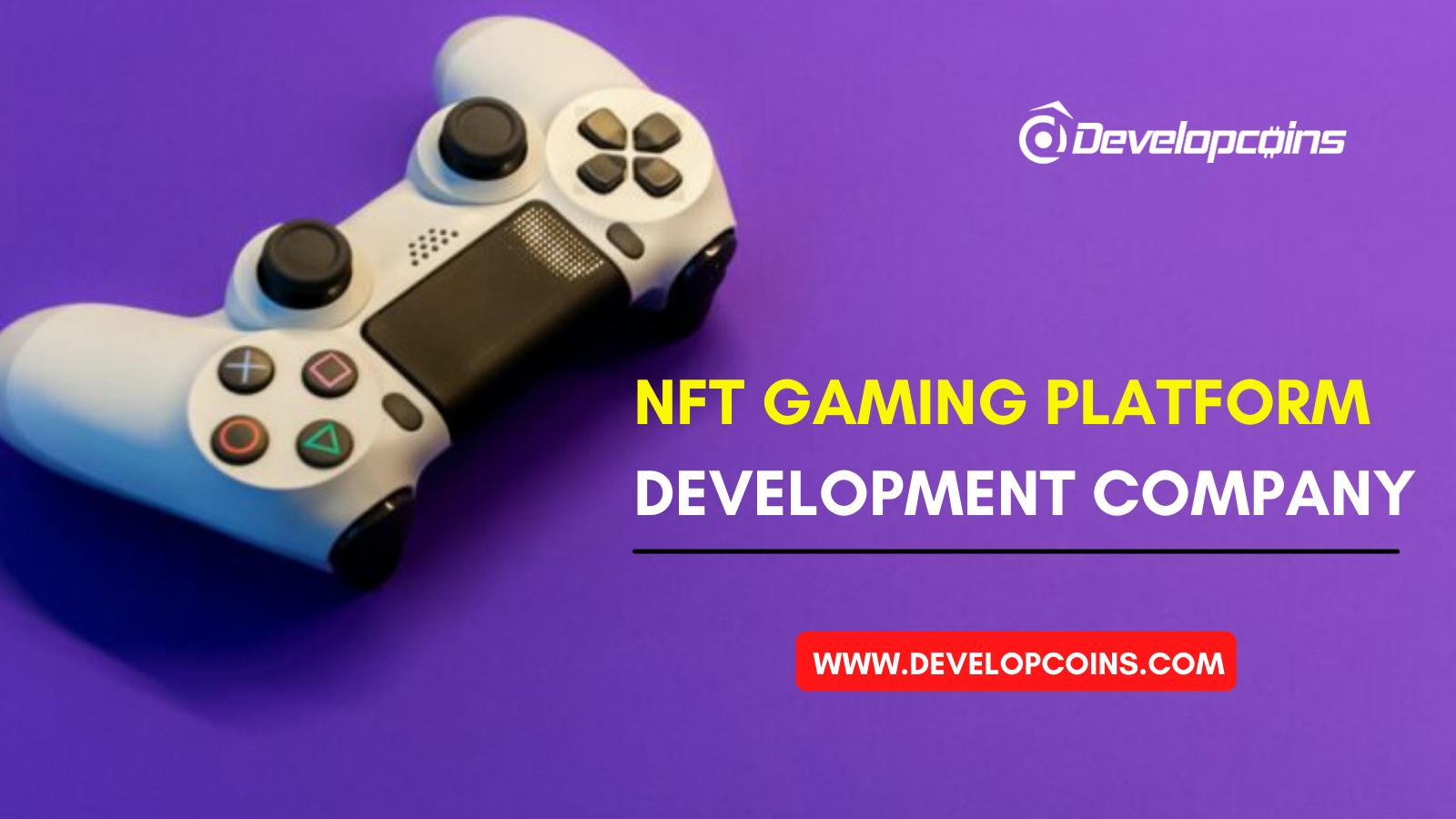 NFT Gaming Platform Development Company | NFT Game Development Services