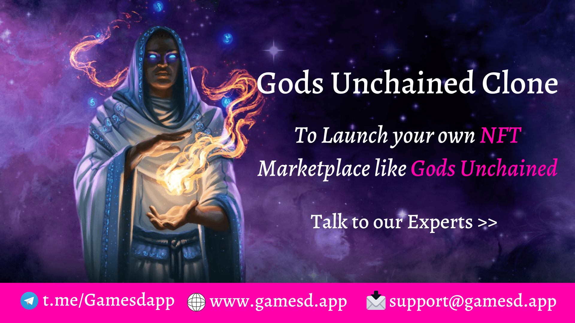 Gods Unchained Clone - Build NFT based Trading Card Game like Gods Unchained