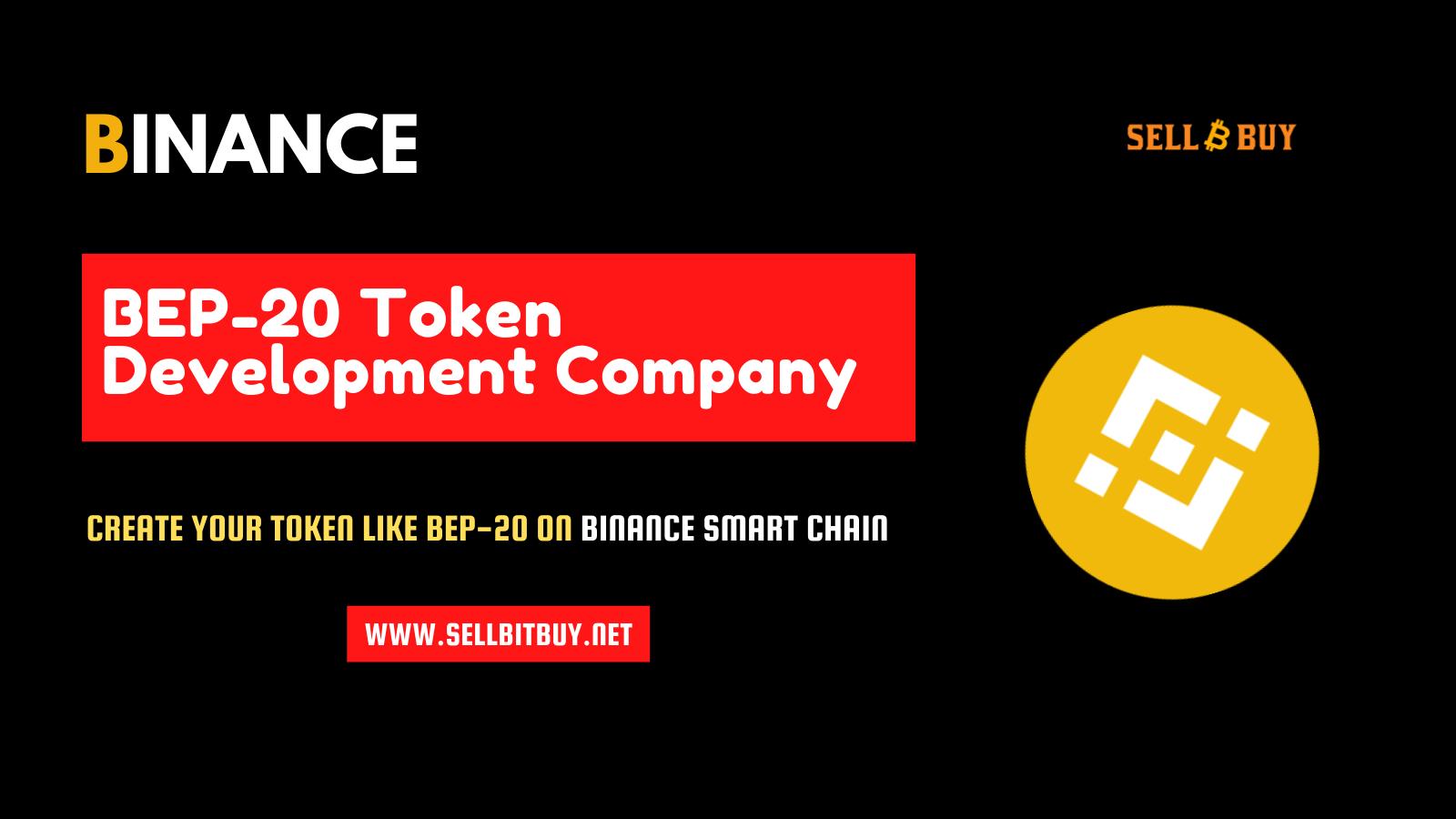 Binance Smart Chain BEP20 Token Development - To Build Your Own BEP20 Token On BSC