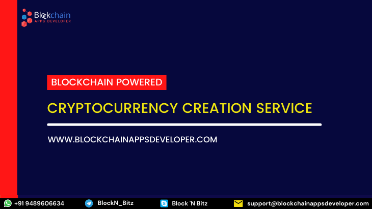 Cryptocurrency Creation Service - Create your Currency on Crypto
