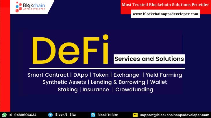 DeFi Development Company   DeFi Development Services