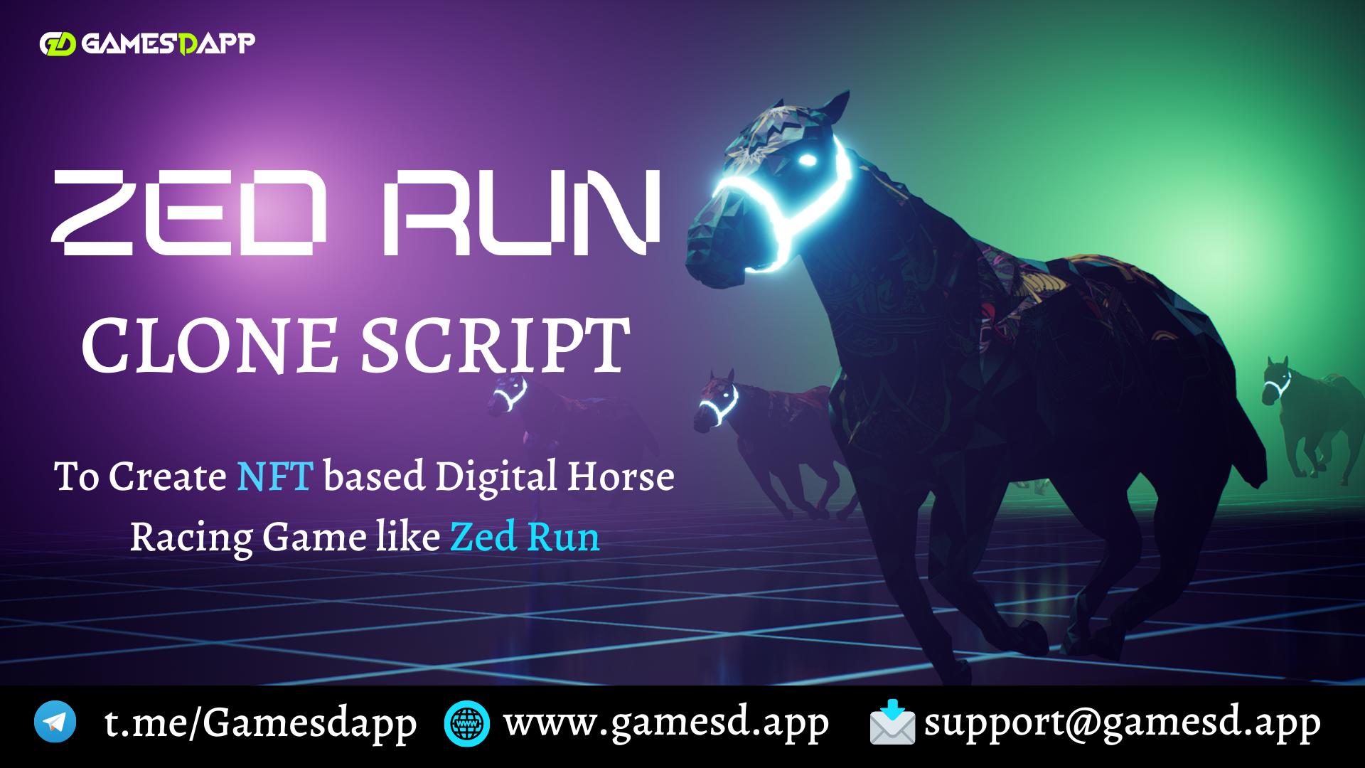 ZedRun Clone Script - To Create NFT based Digital Horse Racing Game like Zed Run