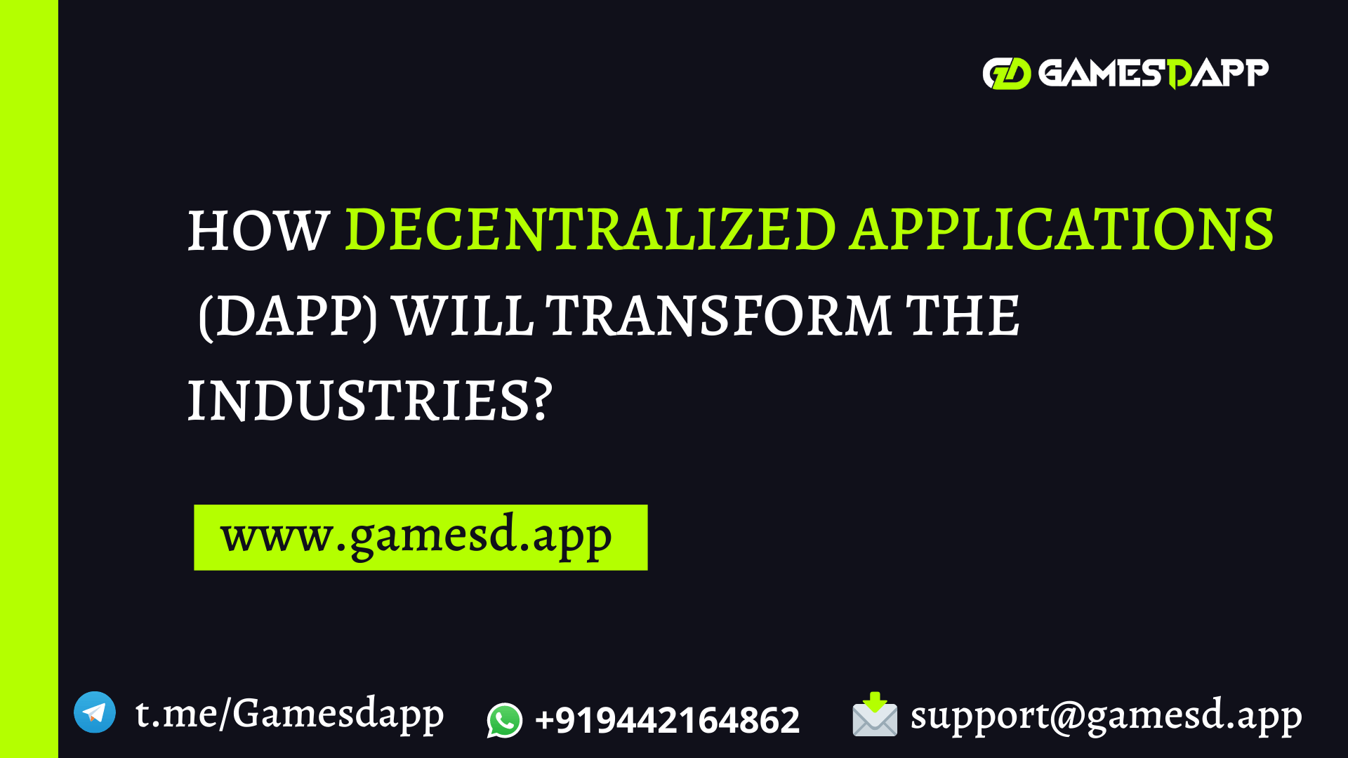 How Decentralized Applications (dApp) Will Transform the Industries?