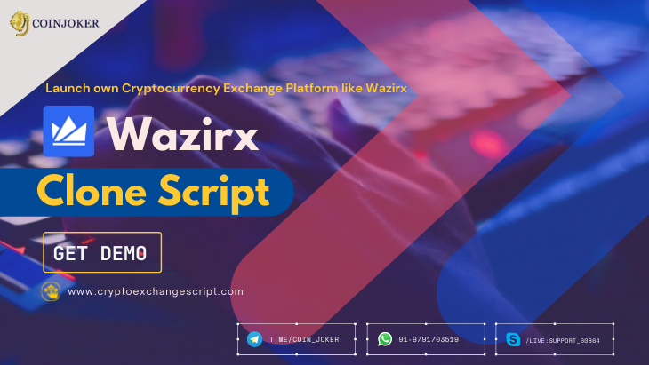 How to Launch your own Crypto Exchange Platform like Wazirx?