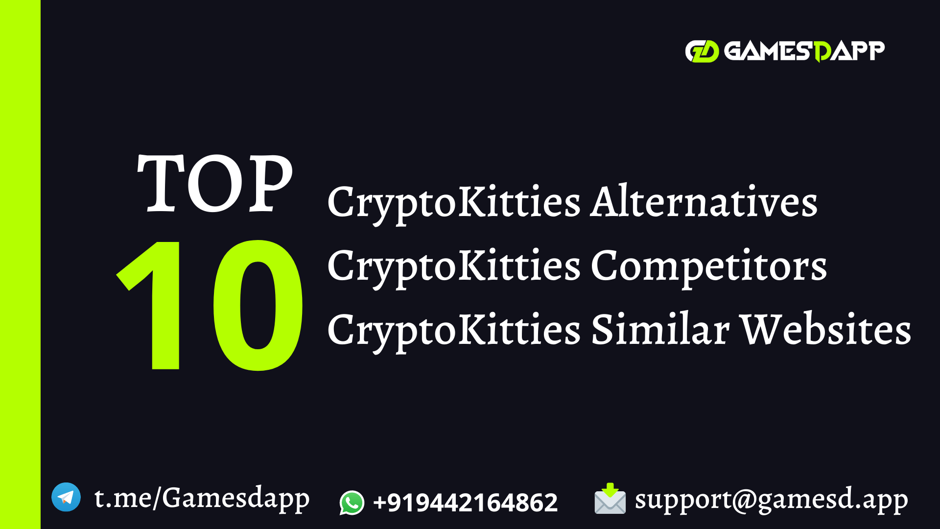 Top 10 CryptoKitties Competitors and Alternatives You Need to Know in 2021