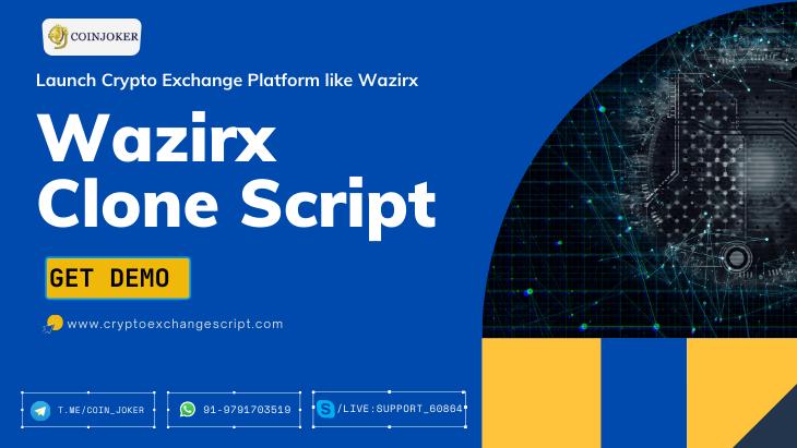 Wazirx Clone Script - To Start a Cryptocurrency Exchange Website like Wazirx