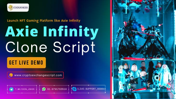 Axie Infinity Clone Script - To Start NFT Game Platform like Axie Infinity