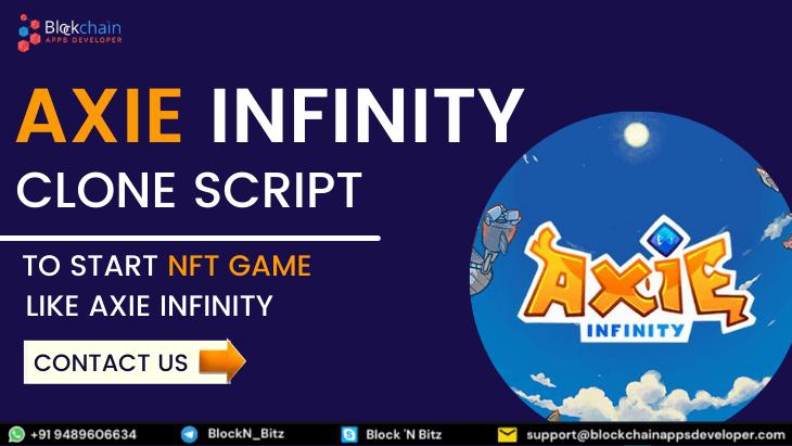 Axie Infinity Clone Script To Start NFT Game Like Axie Infinity