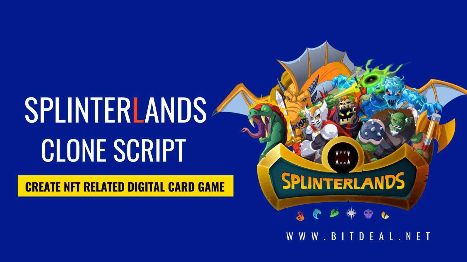 Create Your Own NFT- Based Digital Card Game like Splinterlands