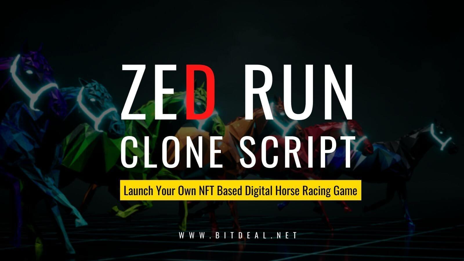 Create Your Own Digital Horse Racing Game Like Zed Run - Zed Run Clone