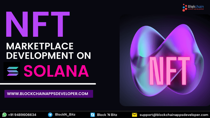 Solana NFT Marketplace Development Company