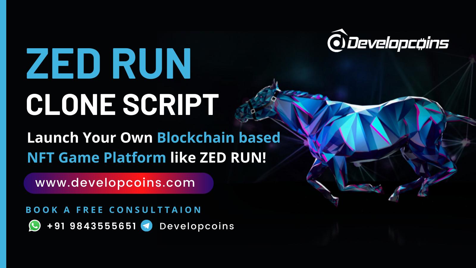 Zed Run Clone Script - Create A Digital Horse Racing Game Based On NFT like Zed Run!