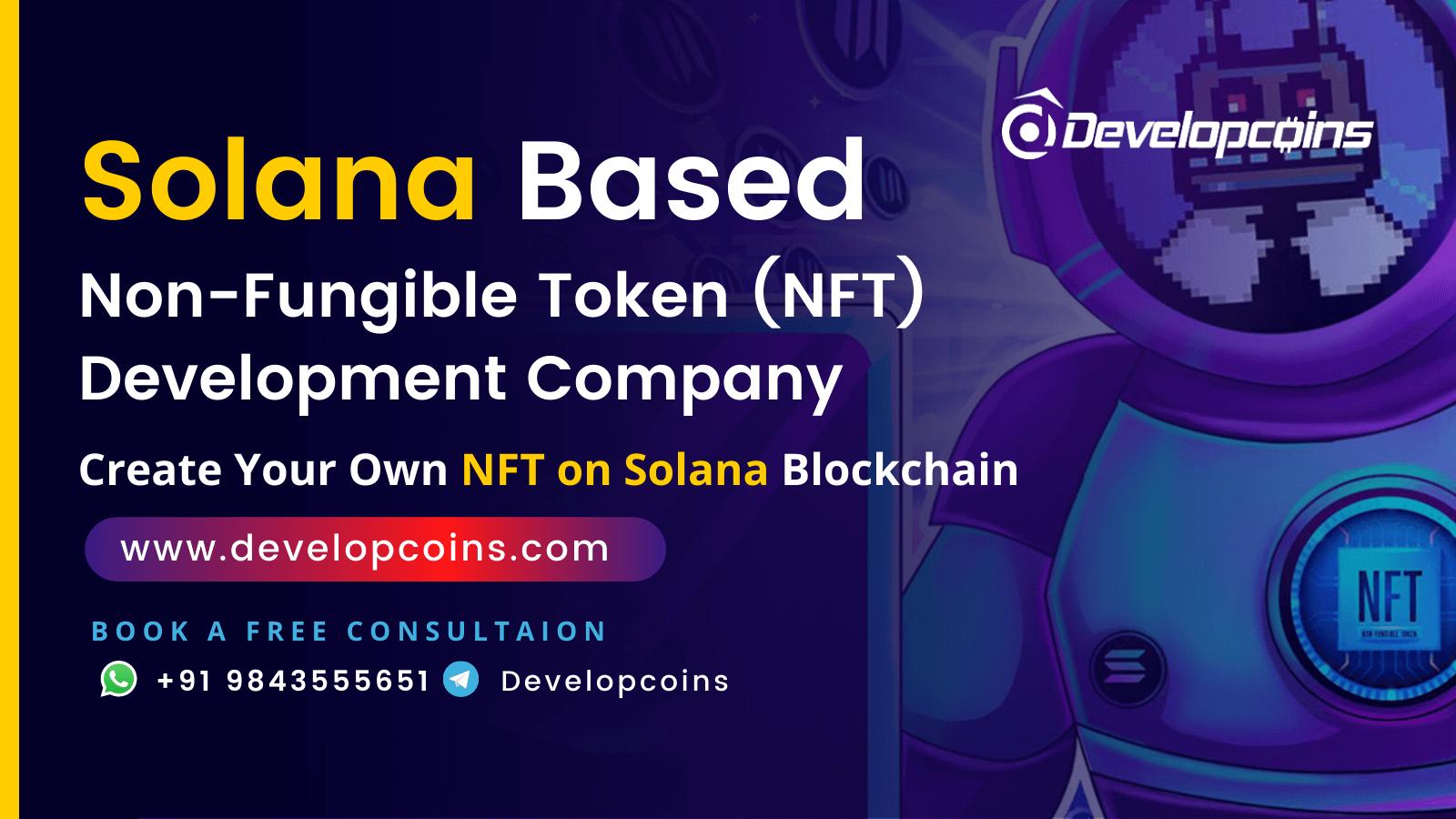 Solana NFT Token Development Company
