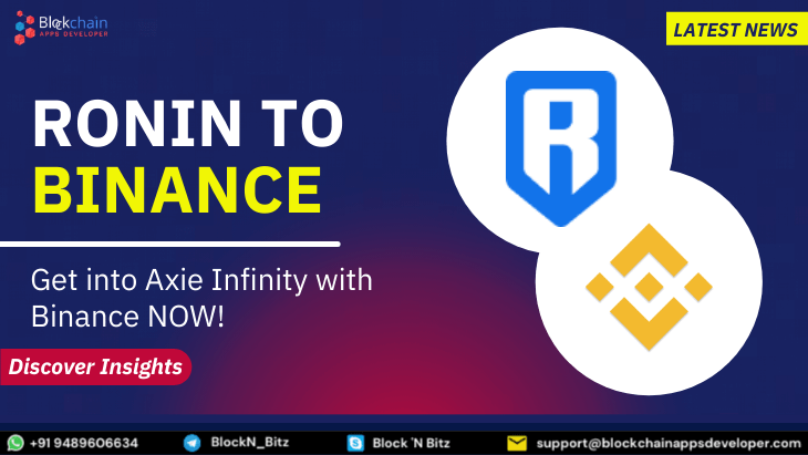 How to Transfer AXS and SLP from Axie Infinity Ronin to Binance?
