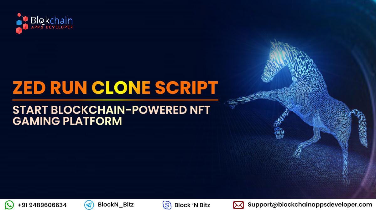Zed Run Clone Script to Build Blockchain NFT based Digital Horse Racing Betting Game Like Zed.Run