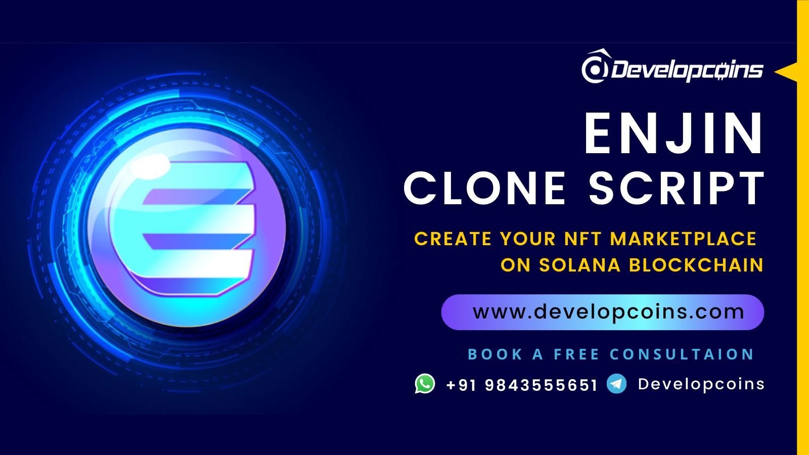 Enjin Clone script To Create NFT marketplace like Enjin