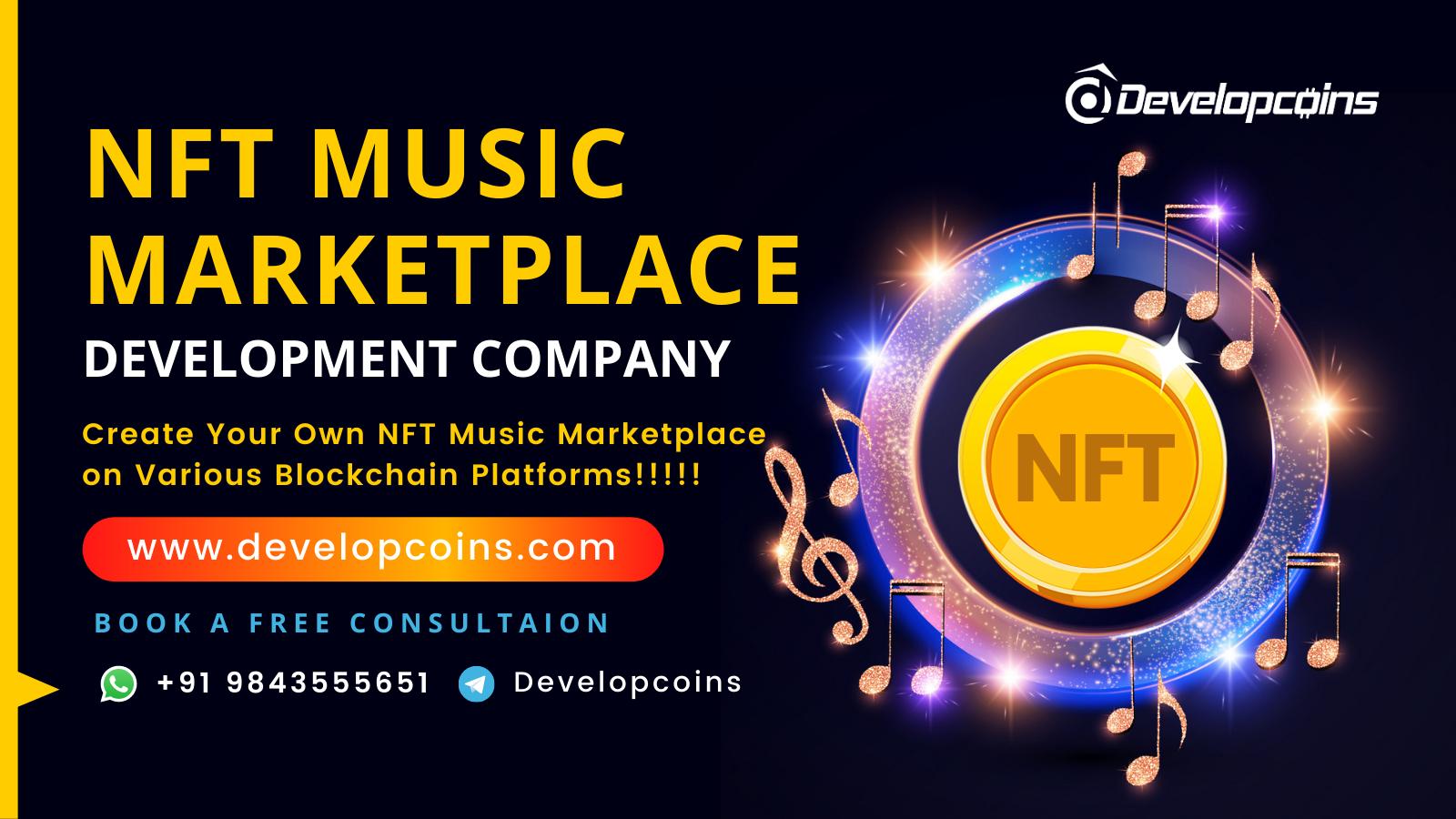 NFT Music Marketplace Development Company
