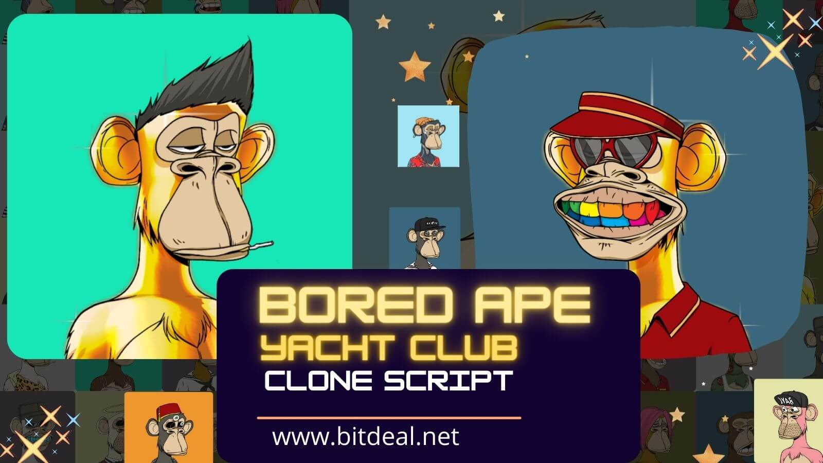 Bored Ape Yacht Club Clone Script to Build NFT Marketplace like Bored Ape Yacht Club (BAYC)
