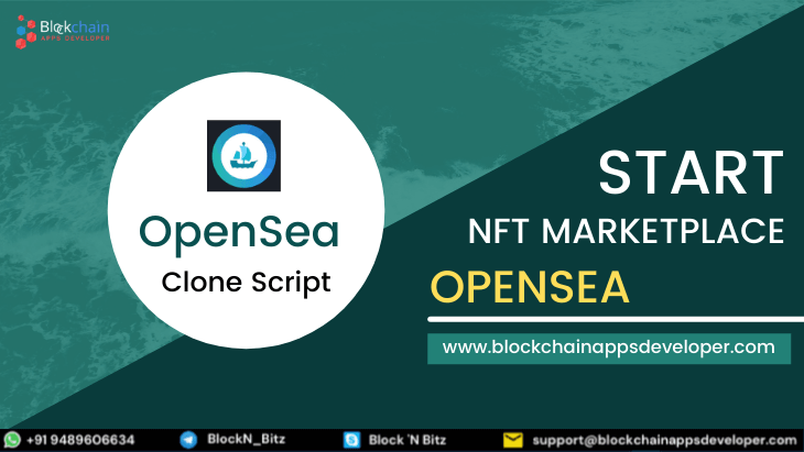 OpenSea Clone Script - To Start NFT Marketplace Like Opensea