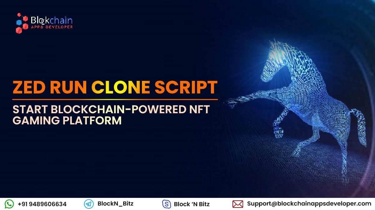 ZedRun Clone Script - To Create NFT Digital Horse Racing Game like Zed Run