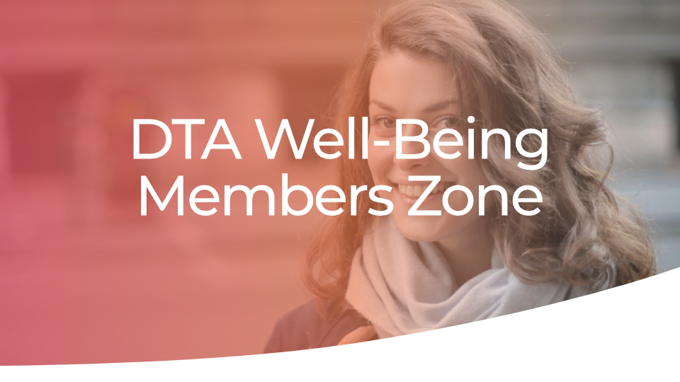 DTA Well-Being Members Zone