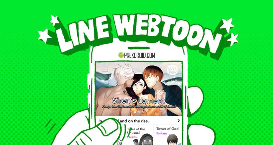 Aplikasi baca komik Line Weebtoon