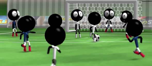 stickman soccer game ringan android terbaik