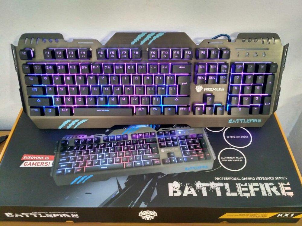 Keyboard Gaming Keyboard gaming Rexus Battlefire KX1